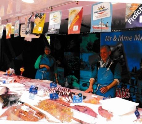 À vendre une très belle affaire de poissonnerie sur les marchés de Tours (Indre et Loire)