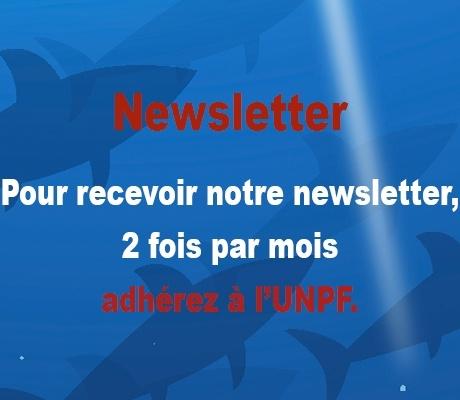 Pour recevoir la newsletter bimensuelle, adhérez à l'UNPF
